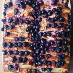 Easy Blueberry French Toast Casserole