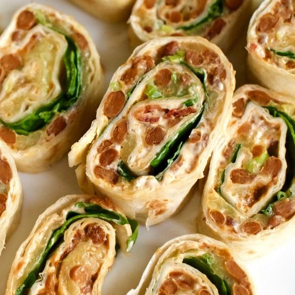 Bacon & Honey Chipotle Bean Pinwheels Recipe