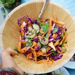 Cucumber Lime Shaven Slaw Recipe
