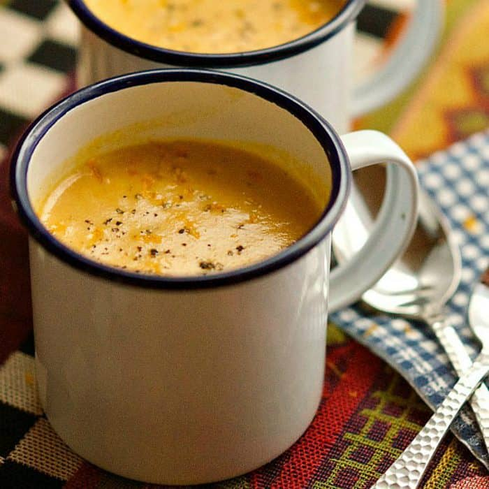 Tasty Creamy Butternut Squash Soup