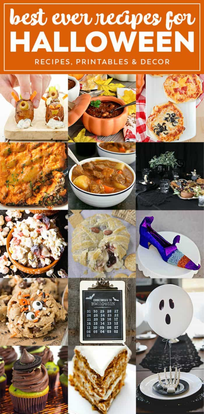 Harvest Halloween Holiday Meal Plan