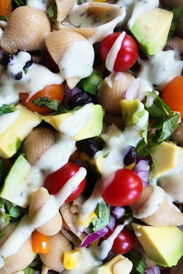 Best Mexican Pasta Shells Salad
