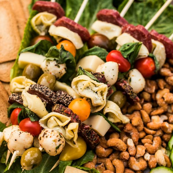 Easy Tortellini Sausage Skewers Appetizer Recipe