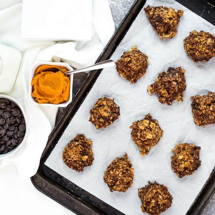 BEST No Bake Pumpkin Cookies Recipe