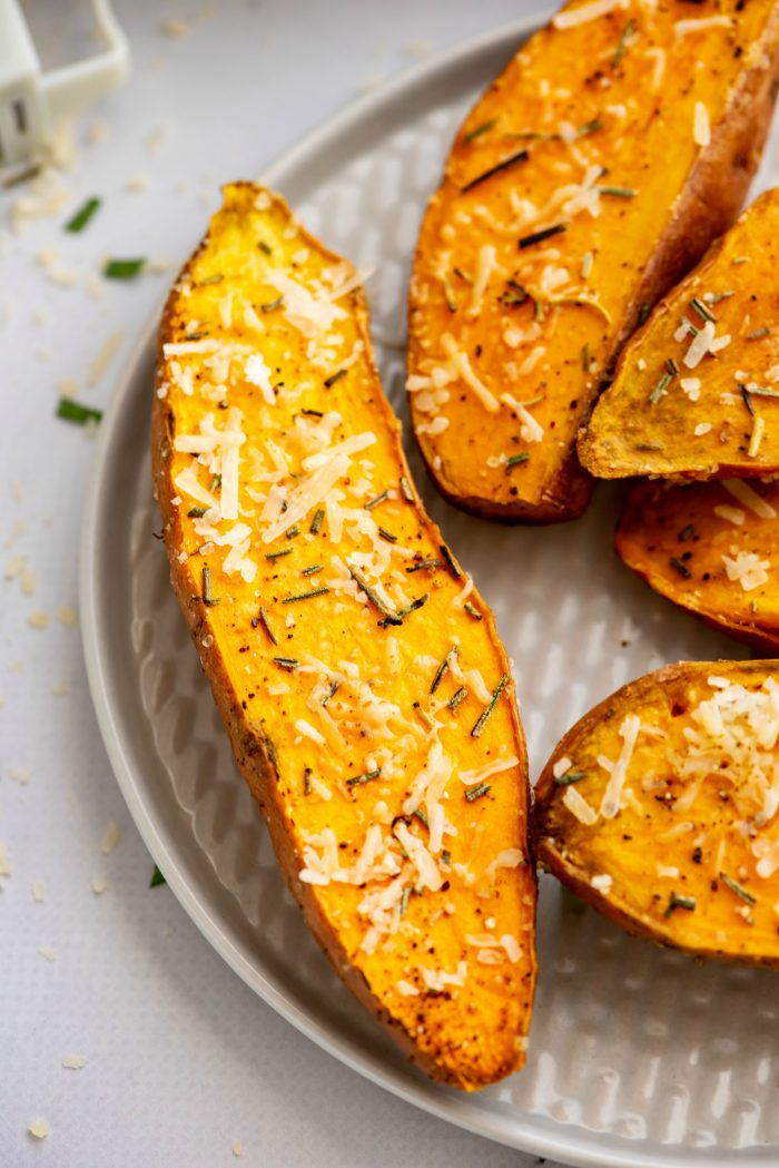 BEST Roasted Sweet Potatoes with Rosemary