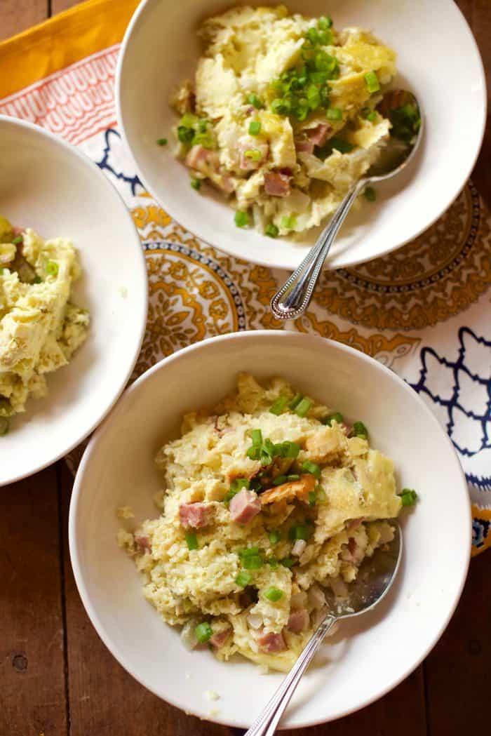 Slow Cooker Pesto Denver Omelette Breakfast