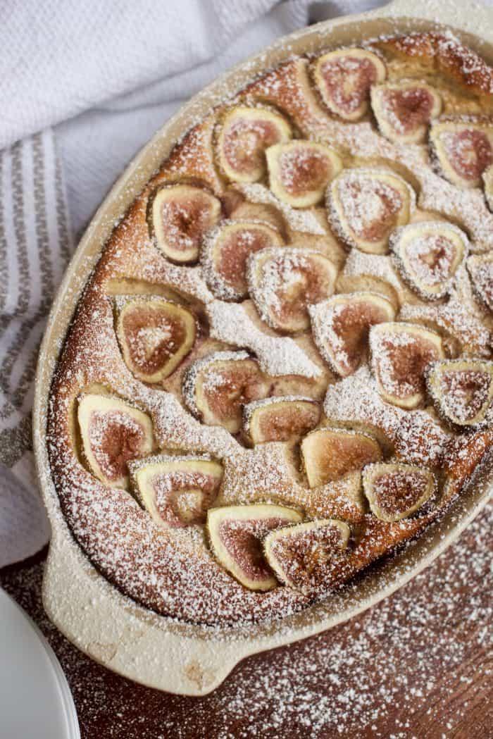 Cinnamon Fig Yogurt Cake