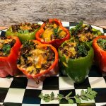 Mexican Sausage-Stuffed Peppers