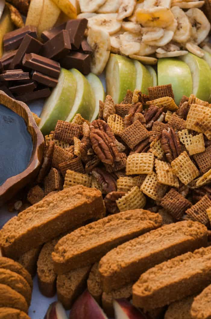 EASY Pumpkin Spice Chex Party Mix Board