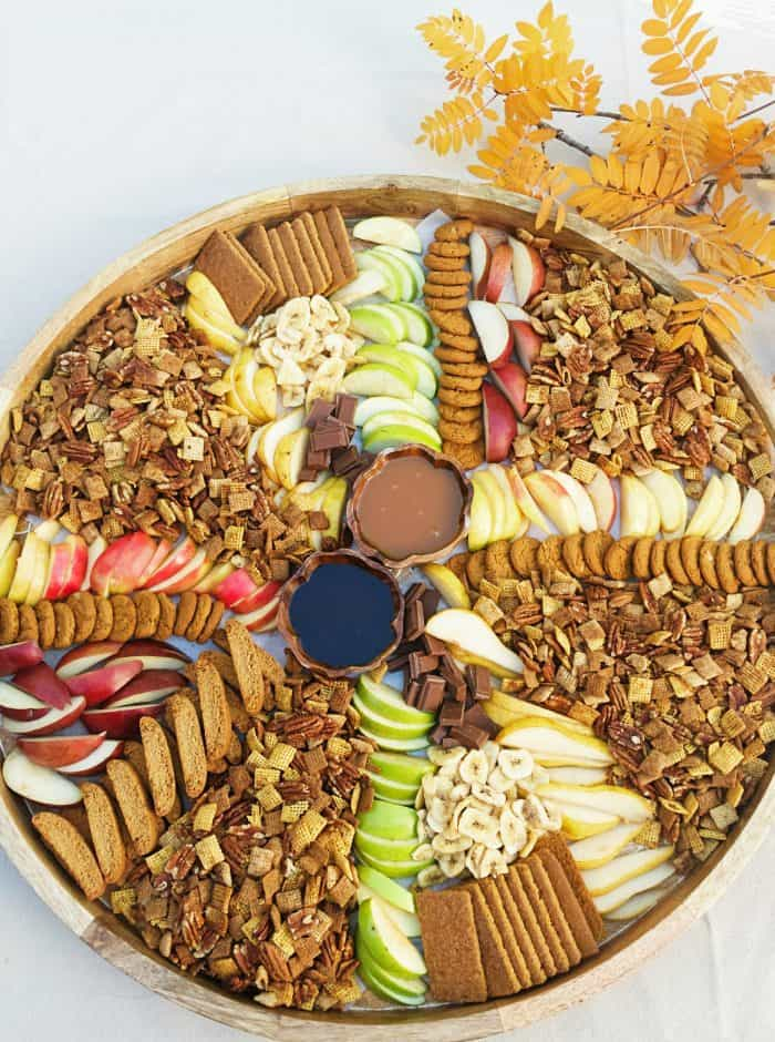 TASTY Pumpkin Spice Chex Party Mix Board