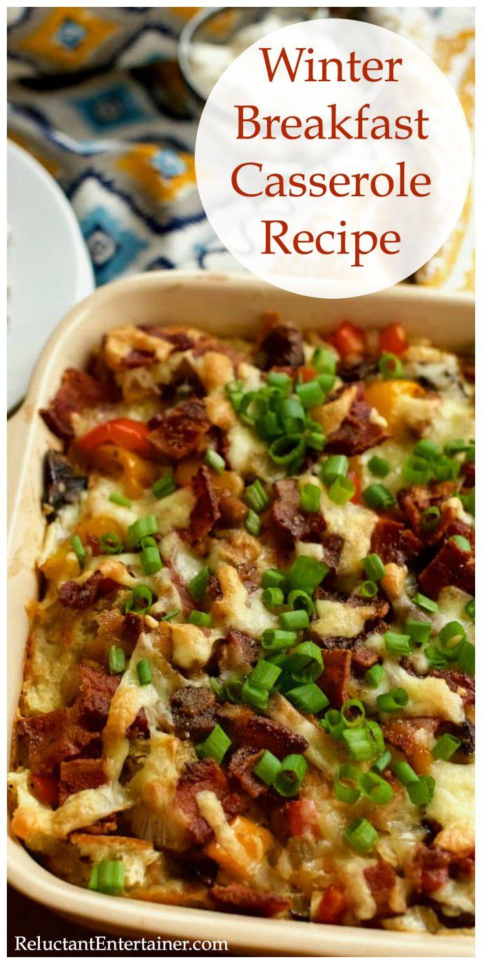 Make-Ahead Winter Breakfast Casserole Recipe
