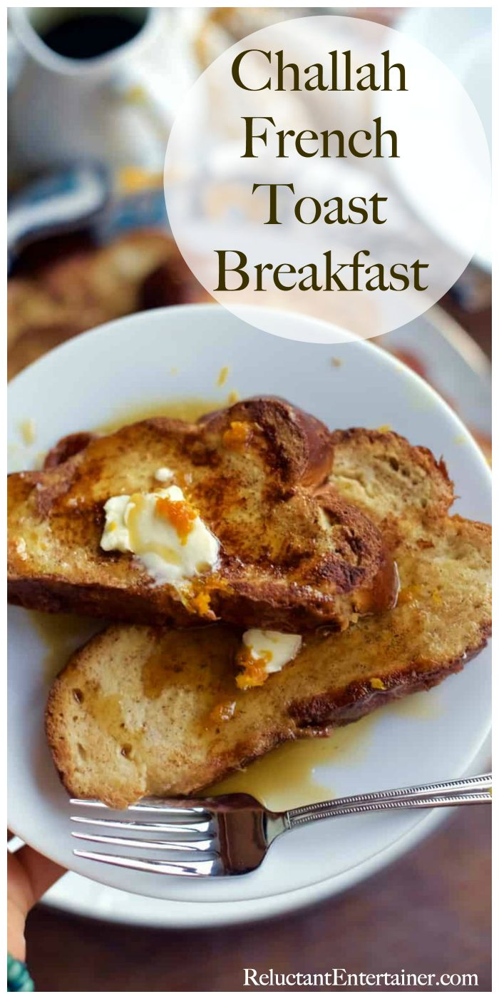 Challah French Toast Breakfast