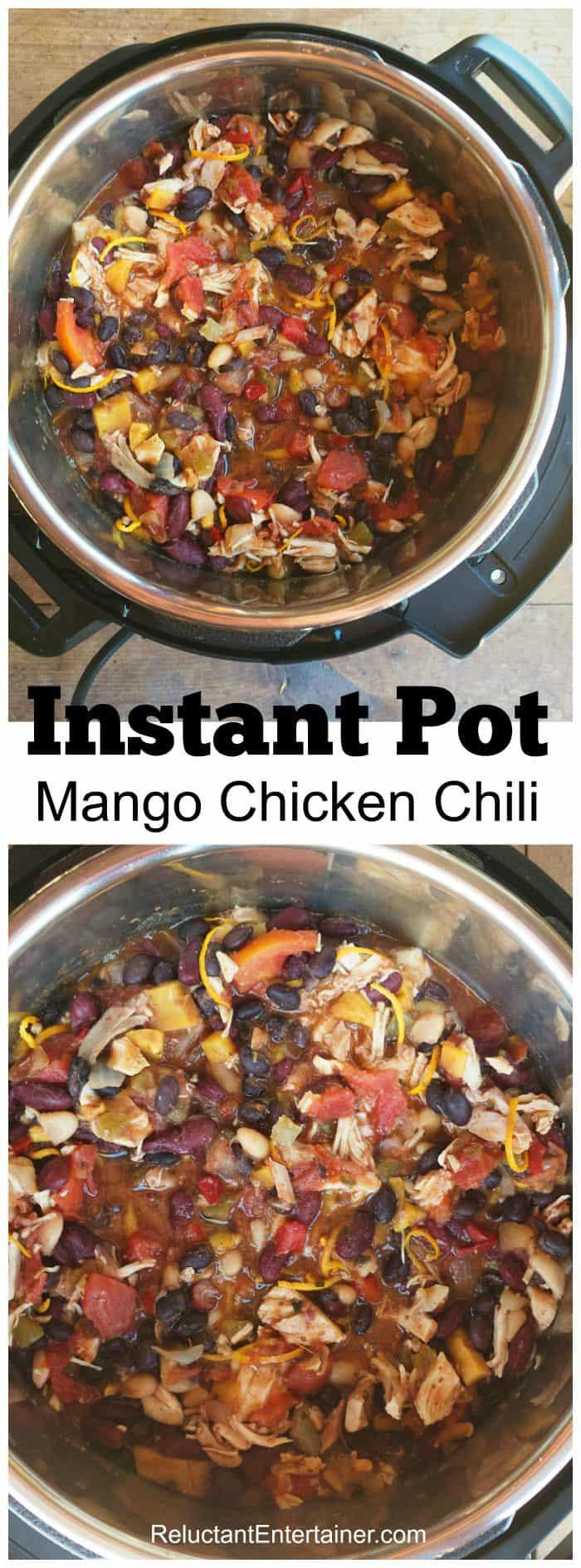 Instant Pot Mango Chicken Chili Recipe