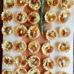 Marmalade Pistachio Brie Mini Tartlets