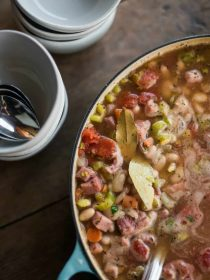 Great Northern Bean Ham Soup Recipe