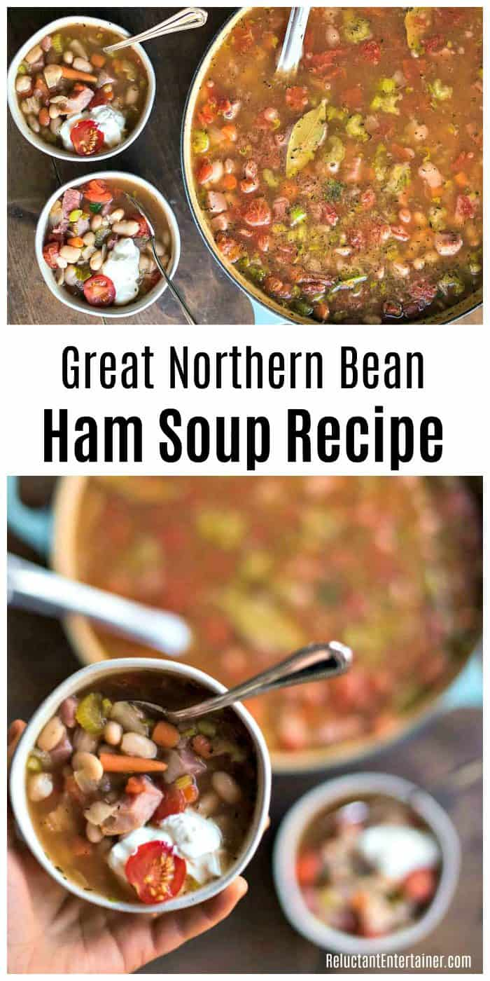 Great Northern Bean Ham Soup