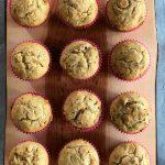 Sour Cream Caramel Banana Muffins Recipe