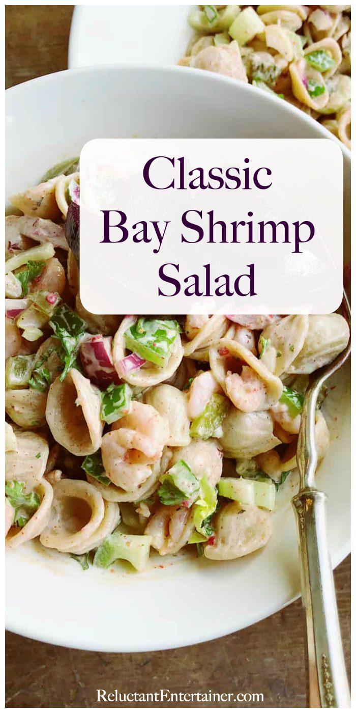 Classic Bay Shrimp Pasta Salad