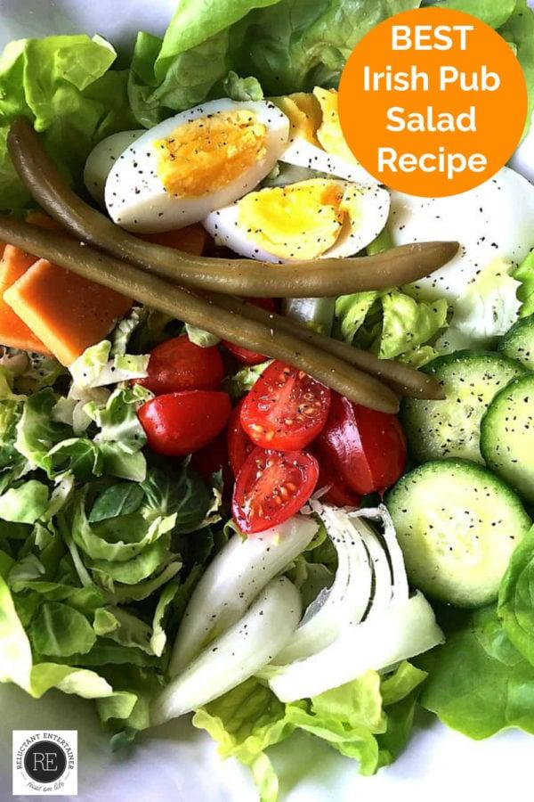 delicious Irish pub salad