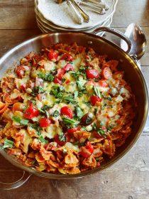 Caprese Chicken Casserole Recipe