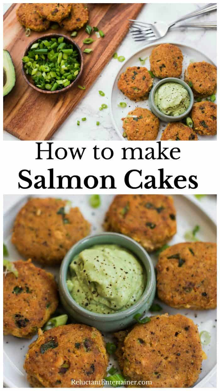 How to Make Salmon Cakes Recipe for Appetizers
