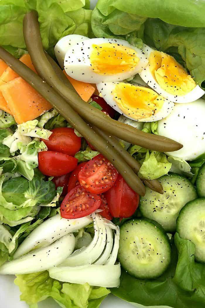 St. Patrick's Day Irish Pub Salad Recipe