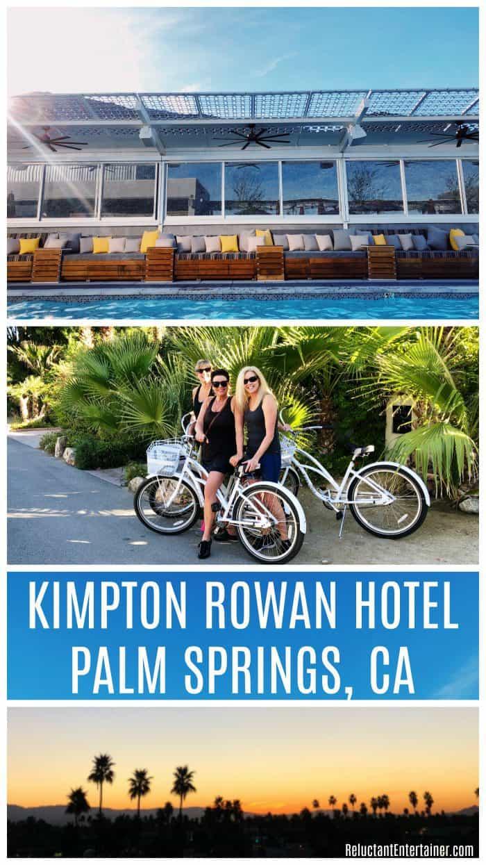Palm Springs California Kimpton Rowan Hotel