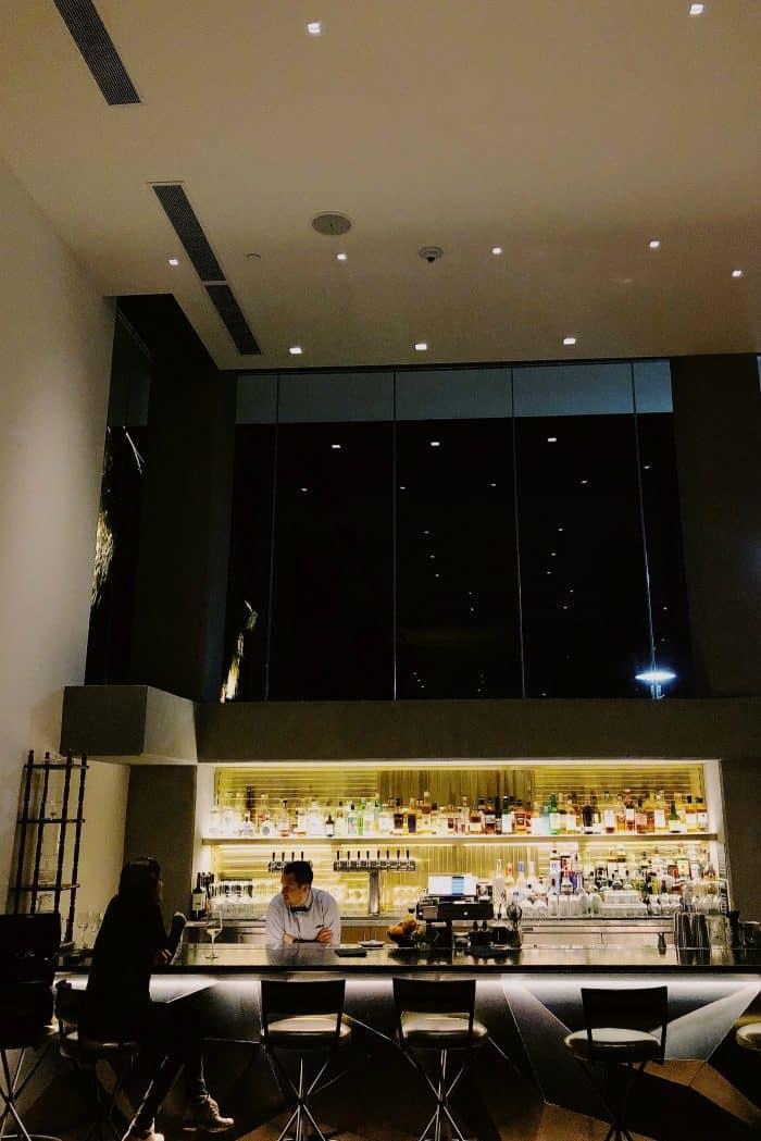 Bar Kimpton Rowan Hotel Palm Springs CA