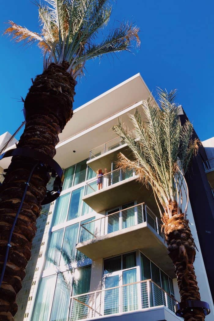 Balcony Kimpton Rowan Hotel Palm Springs CA
