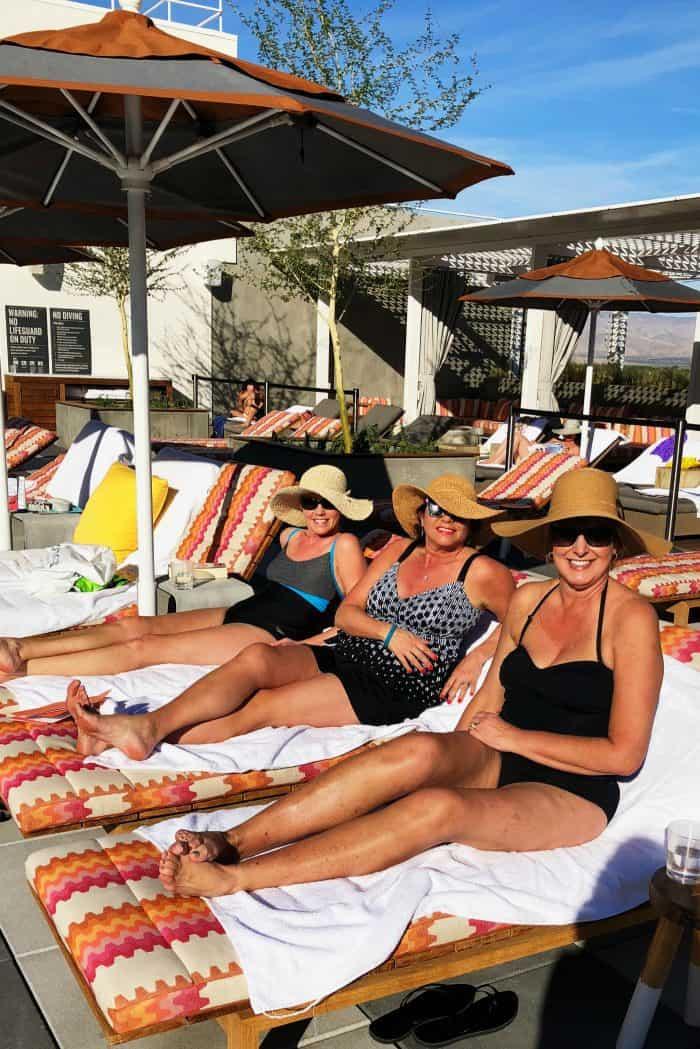 Beautiful Kimpton Rowan Hotel Palm Springs CA