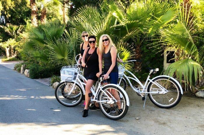 Bikes at Kimpton Rowan Hotel Palm Springs CA