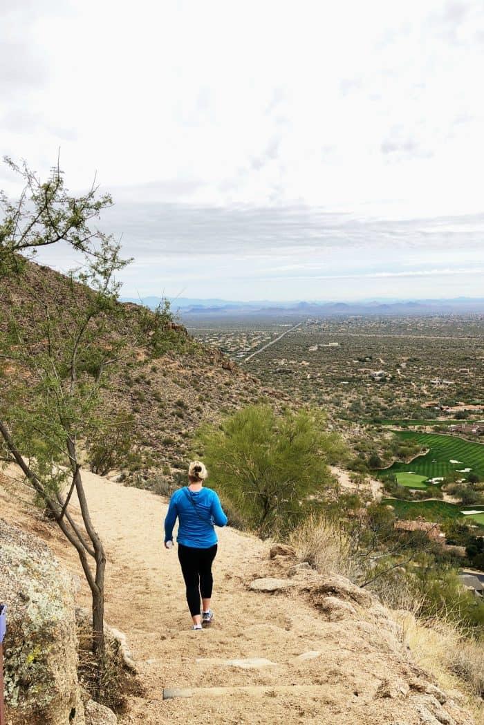 Hiking Pinnacle Peak