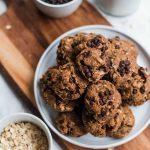 Vegan Almond Butter Coconut Cookies