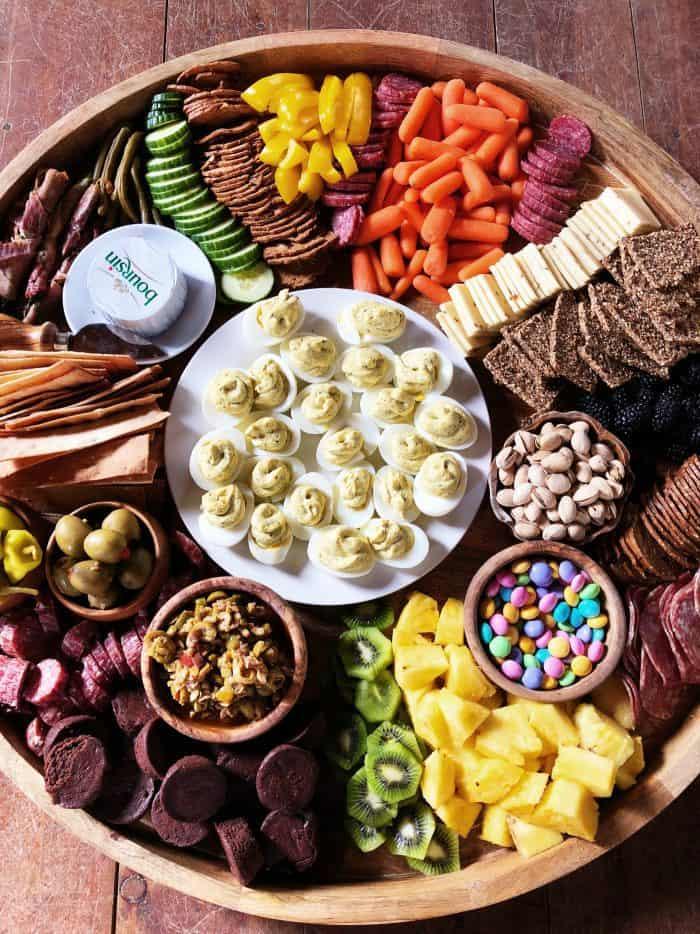 Easter Charcuterie Board Appetizer