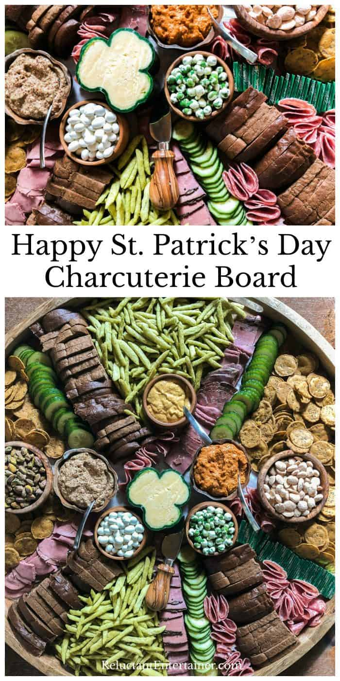 Happy St. Patrick's Day Charcuterie Board Shopping List