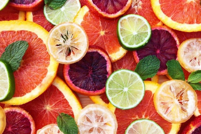 Fresh Citrus Salad with Mint