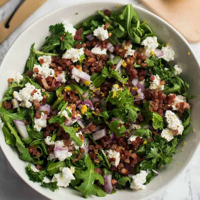 Pancetta Arugula Salad Recipes