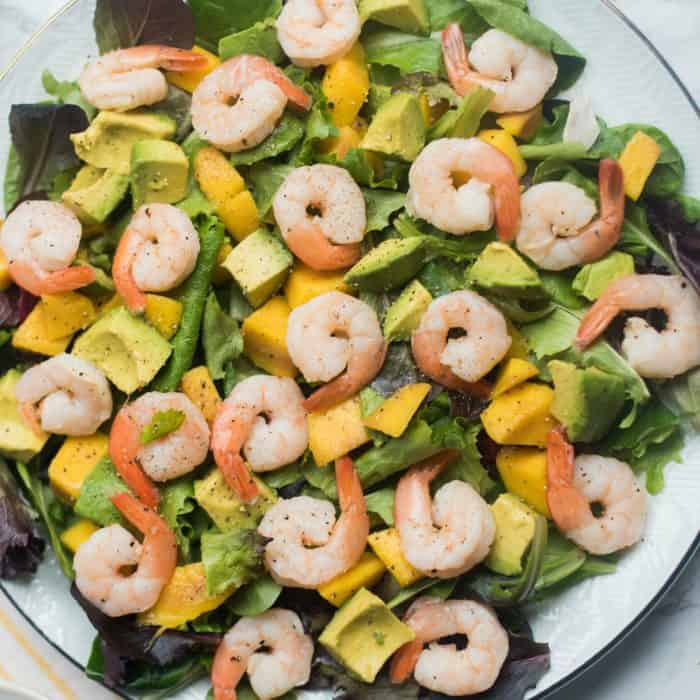 Best Prawns Mango Avocado Salad
