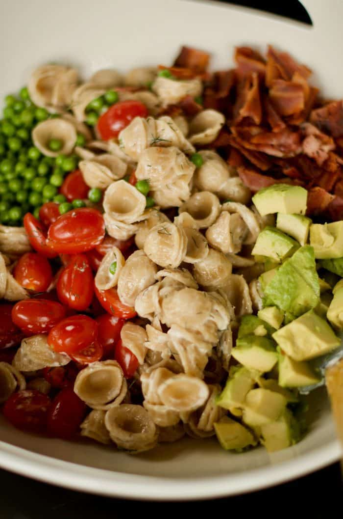 BEST BLT Pasta Salad Recipe