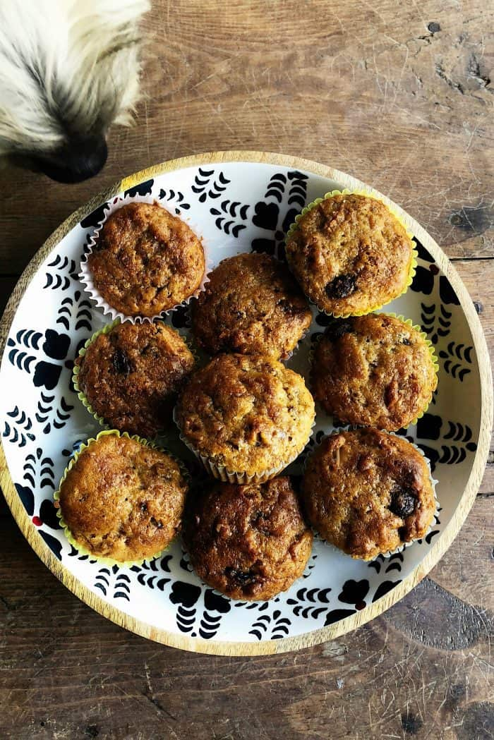 BEST Buttermilk Raisin Bran Muffins