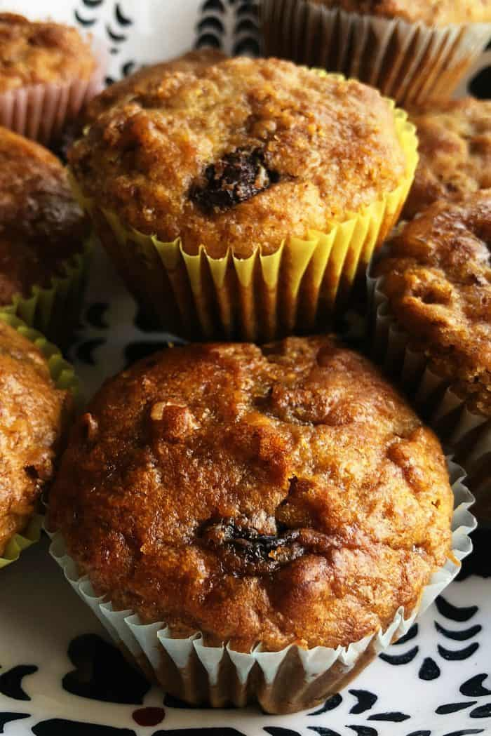 Easy Buttermilk Raisin Bran Muffins