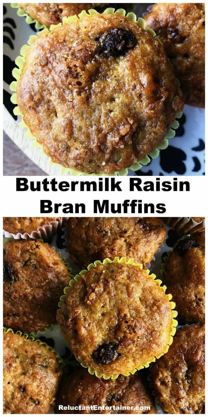 Best Buttermilk Raisin Bran Muffins Recipe