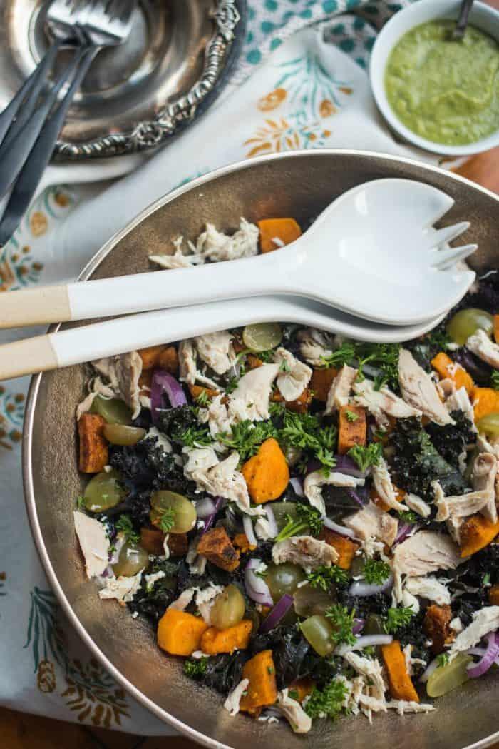Chicken Kale Salad Recipe