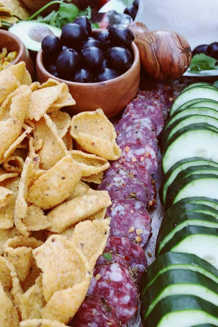 Easy Cinco de Mayo Mexican Charcuterie Board