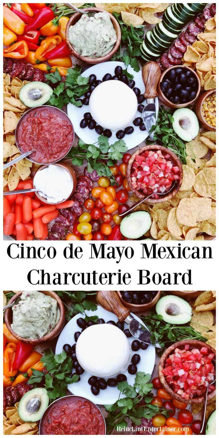 Cinco de Mayo Mexican Charcuterie Board Shopping List