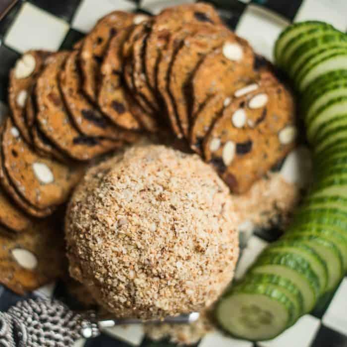 BEST Feta Cheese Ball Appetizer Recipe
