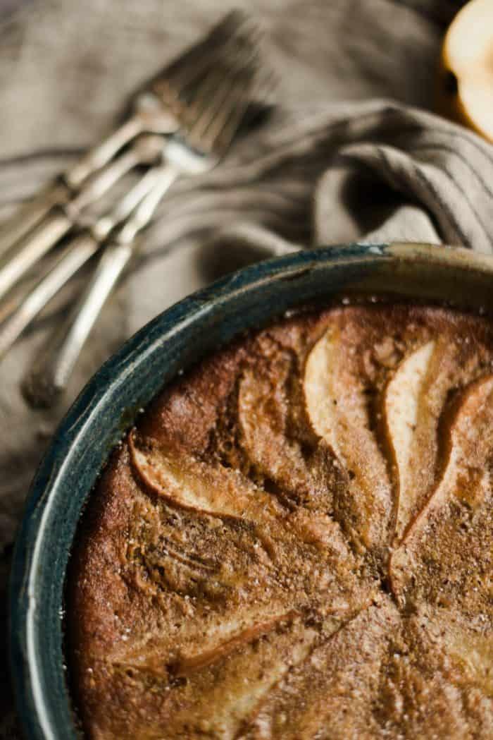 How to make Honey Ginger Pear Custard Pie Recipe