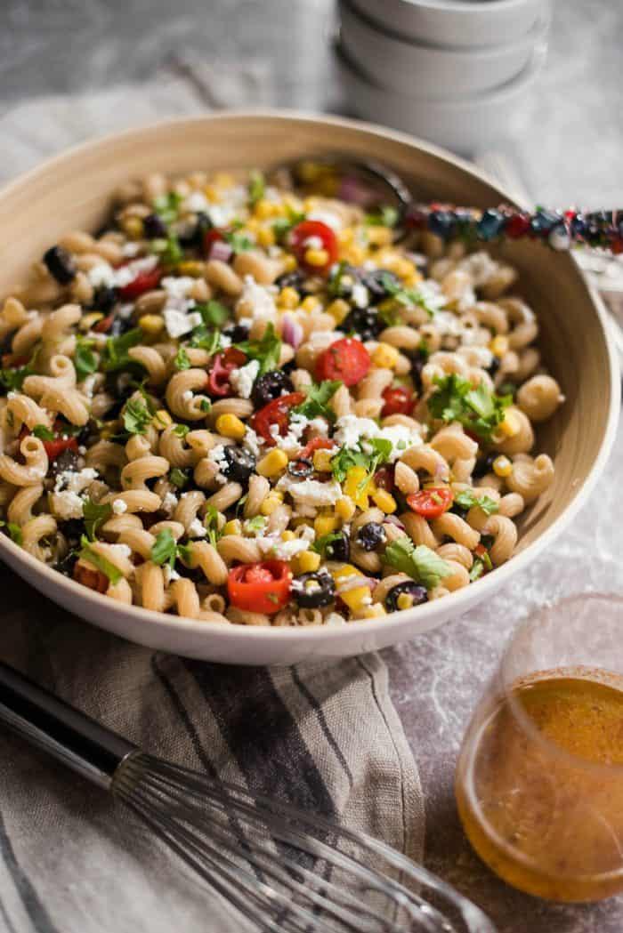 Easy Mexican Pasta Salad Recipe