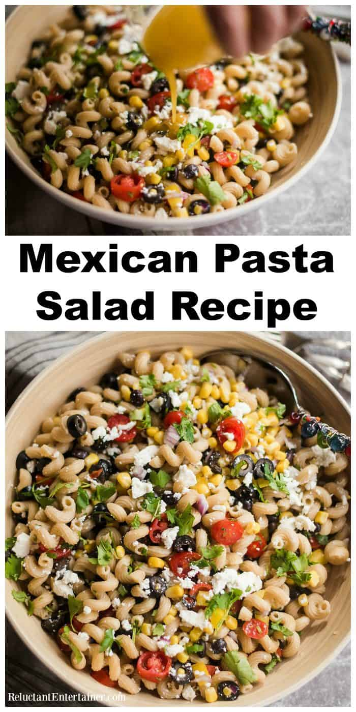 Best Mexican Pasta Salad