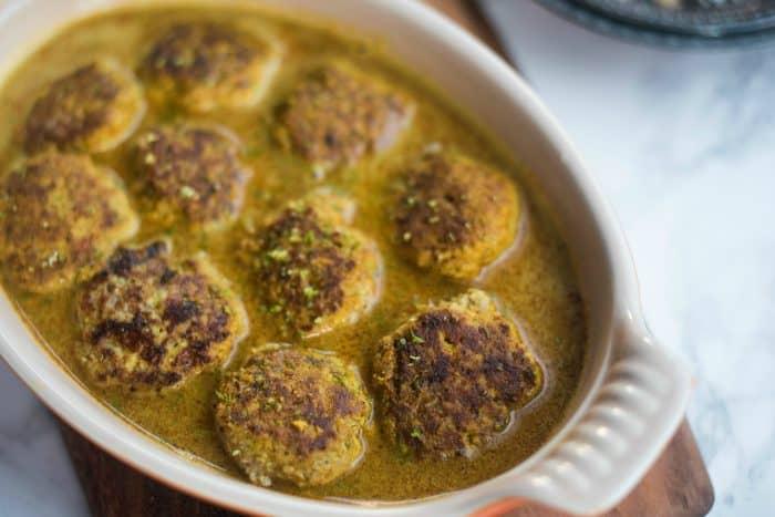 Delicious Spicy Coconut Curry Turkey Meatball Recipe